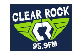 Clear Rock 95.9 Logo