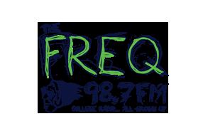 The FREQ 98.7 Logo