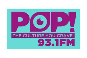 POP 93.1 Logo