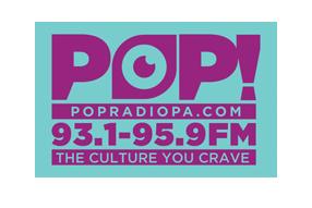 Pop Radio P.A. Logo